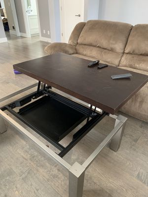 Rising Coffee Table and End Tables for Sale in Portland, OR