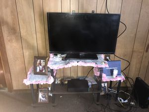 Tv and tv stand .....check description below for Sale in Fall River, MA