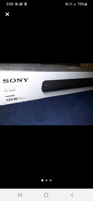 Sony sound bar for Sale in CORP CHRISTI, TX