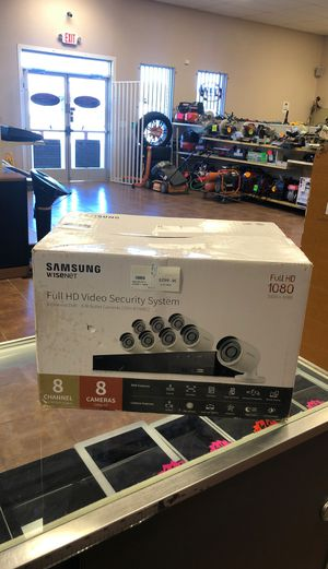 Samsung surveillance 8cameras for Sale in Fort Worth, TX