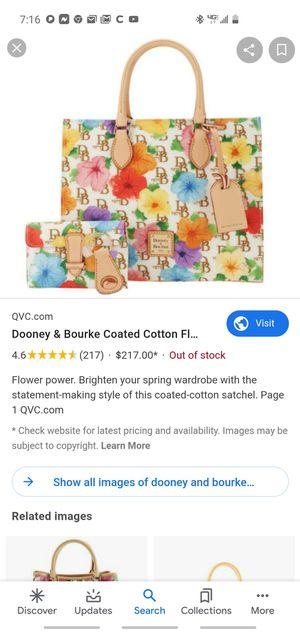 Dooney&burk purse set new! for Sale in Fresno, CA