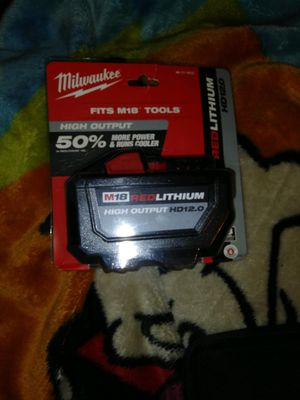 Milwaukee m18 xd12.0 battery for Sale in Vancouver, WA