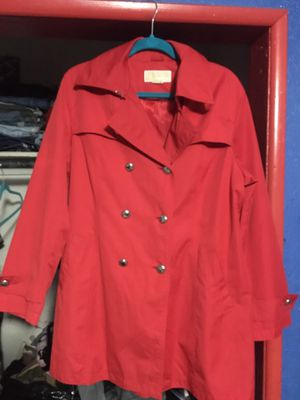 Michael Kors Red Jacket XL for Sale in Bakersfield, CA