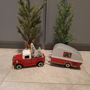 christmas truck and trailer with trees for Sale in Apple Valley, CA