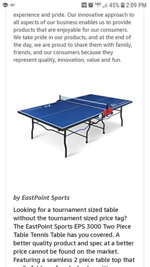 Ping-pong table for Sale in Wichita, KS