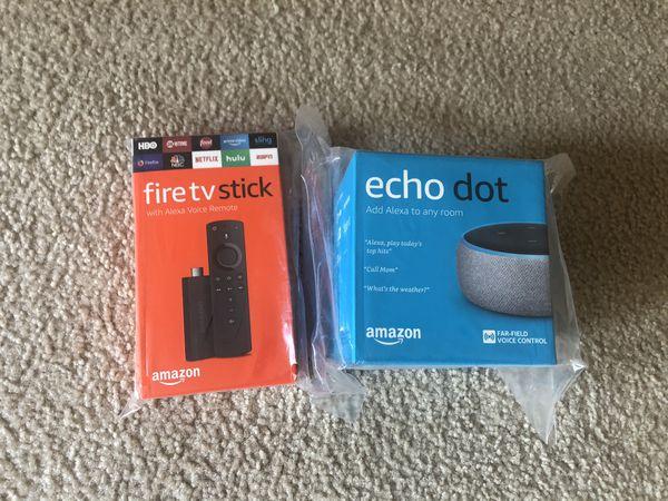 Fire tv + eco dot