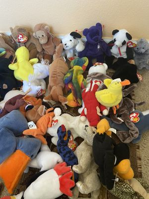 Beanie babies lot of 80 pieces for Sale in Poinciana, FL