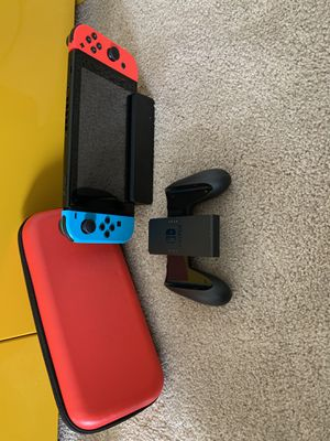 Nintendo Switch w/ case for Sale in Issaquah, WA