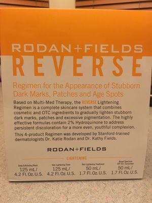 Rodan and Fields Reverse Lightening Regimen new for Sale in Aurora, IL