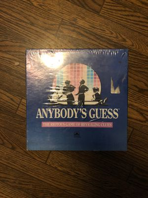 Anybody's Guess Game for Sale in San Jose, CA