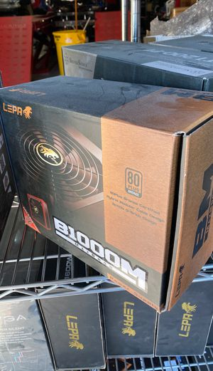 Lepa 1200w Computer Gaming Power Supply for Sale in Westminster, CA