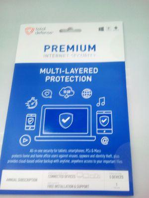 Premium total defense anti virus software for Sale in Nashville, TN