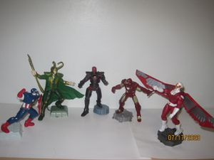 Playmation Marvel Avengers Iron Man, Captain America, Loki for Sale in Chicago, IL
