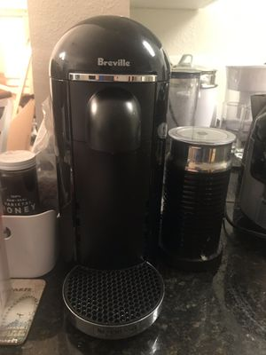 Nespresso Coffee Maker+ Frother for Sale in McLean, VA