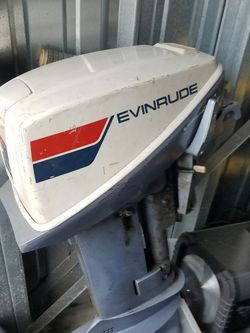 Evinrude 15 hp motor for Sale in Indianapolis,  IN
