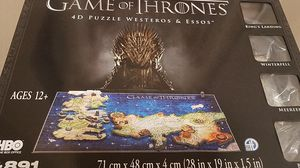 Game Of Thrones 3D puzzle free (pickup only) for Sale in Sunnyvale, CA