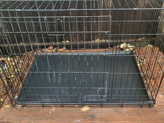Dog Crate X-Large 2 Door Foldable, 42 x 28 for Sale in Tracy,  CA