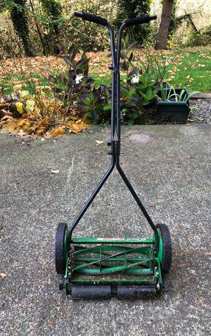 "Manual Push Mower - Scotts Elite 16"" for Sale in SeaTac, WA"