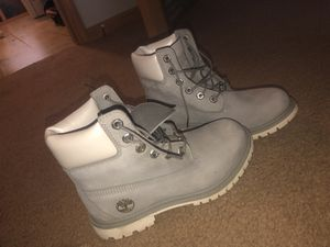 Grey Timberland Boots for Sale in Craigsville, WV