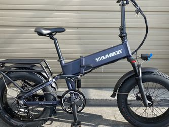 YAMEE FAT BEAR 750S AIR - 750 Watts Fat Tire Folding Aluminum Electric Bike in 3 Colors - Brand New for Sale in Walnut,  CA