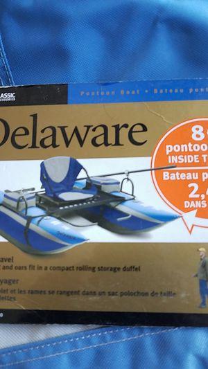 Delaware pontoon boat for Sale in Stockton, CA