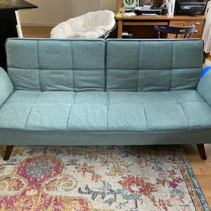 Teal Sleeper Sofa for Sale in Oregon City, OR