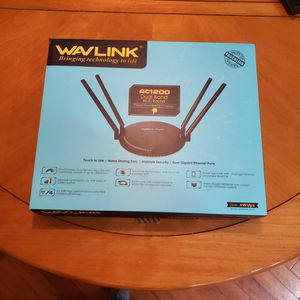 Wavlink AC1200 Dual Band Router for Sale in Snohomish, WA