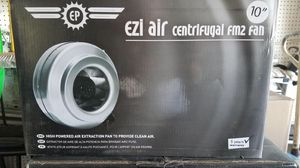 Ez air 10in in-line fan for Sale in Fullerton, CA