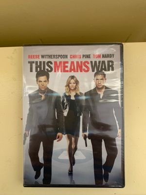 This Means War DVD for Sale in Brooklyn, NY
