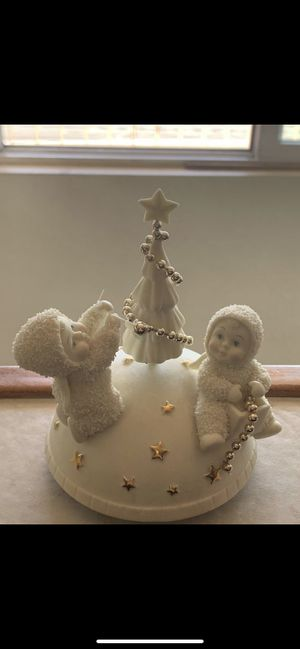 Christmas musical snowbabies $25 for Sale in Fontana, CA