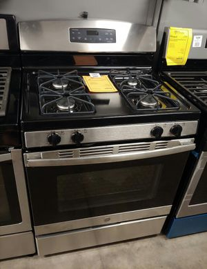 NEW GE Stainless Steel Gas Stove Oven..1 Year Manufacturer Warranty for Sale in Gilbert, AZ