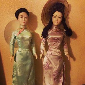 Vintage Vietnamese Dolls From The Vietnam War Era for Sale in Portland, OR