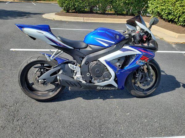 2007 gsx-r 750 clean title
