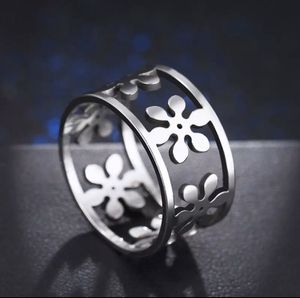 Size 7 non tarnish surgical stainless ring for Sale in Greer, SC