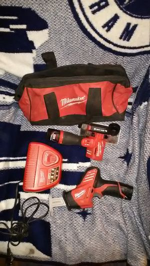 Milwaukee 12v tools for Sale in Seattle, WA