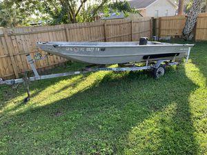 1988 Sea Nymph boat (25hp) for Sale in Apollo Beach, FL
