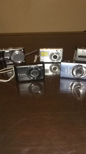 Fujifilm, Lumix, Canon, Sony for Sale in Tampa, FL