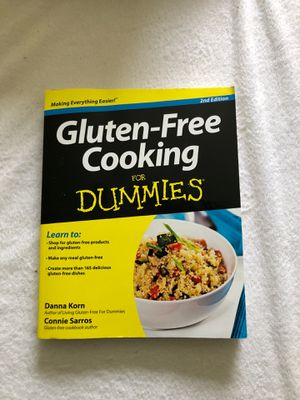 Cook book, Gluten Free for Sale in Saint Robert, MO