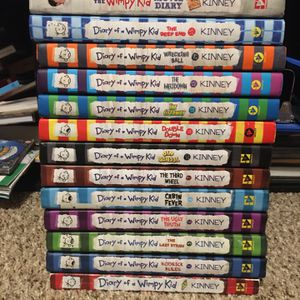 Diary of a Wimpy Kid Books (14) for Sale in Bothell, WA