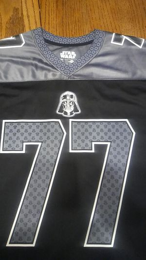Darth Vader # 77 Star Wars Jersey. XL. Used but in good condition for Sale in Moreno Valley, CA