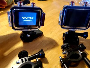 (2) Vivitar HD 1080p GOPro Cameras for Sale in Greenville, SC