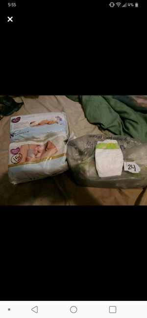 81 newborn diapers for Sale in Aliquippa, PA