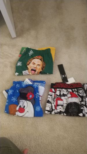 Men's Christmas Boxers Underwear lot Size Large for Sale in Raleigh, NC