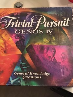 Trivial Pursuit Genus IV (vintage 96 edition) and Clue board games Best Offer for Sale in Killeen,  TX