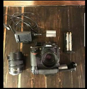 Nikon D300 PRO DSLR w/ 3 lenses and grip for Sale in Orlando, FL