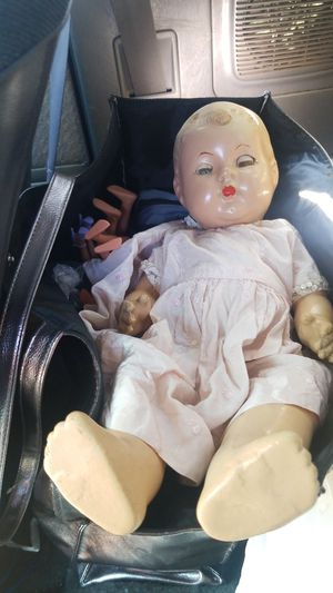 Antique baby doll for Sale in Parkland, WA