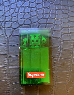 Green Supreme Zippo lighter for Sale in The Bronx, NY