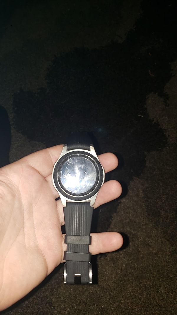 Galaxy watch with charger