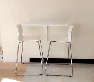 Bar stools and wall mounted table for Sale in New York, NY