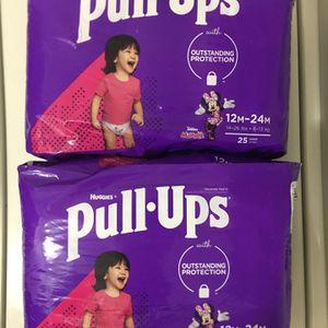 $12 for Both. Huggies Pull Ups. Please, read description. Hablo español. for Sale in Las Vegas, NV